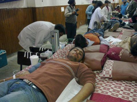 NSS blood Camp